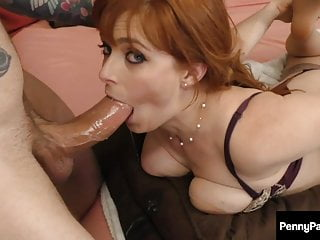 Horny Little Red Penny Pax Loves Cockies & Milk!