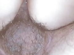 Fat BBW anal, stepson is pounding my ass