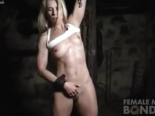 Claire Masturbates While Restrained