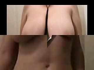 Lateshay long floppy saggy tits (compilation 1)