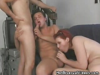 Oral Bisexuals Threesome