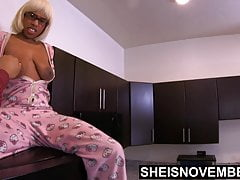 Cornered By Stepdad In My Pajamas! Scared Ebony Stepdaughter