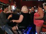 Three bbw wanna have fun in the bar