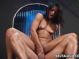 Sizzling getting fucked real hard...