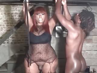 Shemale pornstar ts big booty bianca fucks slave...