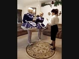 Kelly Kay and Maid Sissy 2