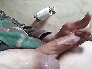 Real thick cum shot
