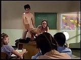 Ann Harlow fucks in classroom
