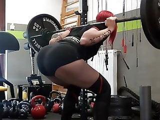 Anita K squat ass 3