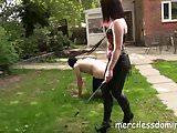 Mistress Zoe Educates Her New Pony - Real British Domination