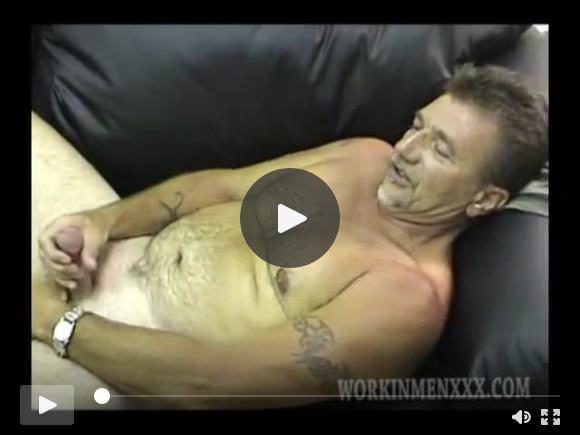 Amatoriale maturo Dave Jacking Off