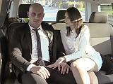VIP SEX VAULT - Czech Babe Seduce Her Chauffeur Into Sex