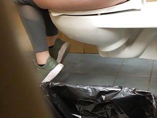 Spycam on Bitch utilizing Bathroom 2