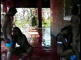 Bi-sexual action at the sauna