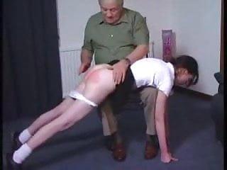 Sexy Girl Gets an OTK Spanking