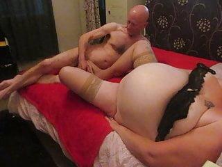 angelina stockings footjob cumshot