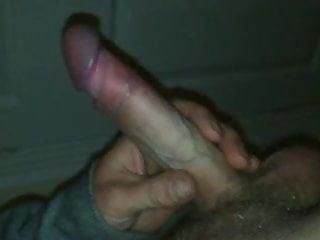 Just me wanking my hard cock pov