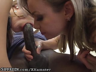 Rocco Siffredi Guides Young Stud in Fucking 2 Italian Babes