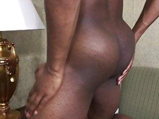 October jacks his big stripper dick...