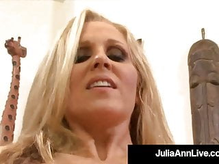 World Famous Milf Julia Ann Is Pussy Pounded By A Lucky Cock